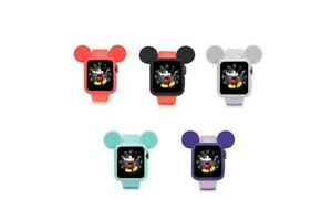 Mickey Mouse Ear Silicone Protective Case Cover For Apple Watch 38/42mm