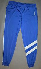 adidas Originals 80 Vintage Retro Trefoil Blau Jogginghose Hosen Größe 2XL
