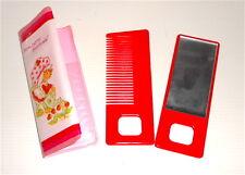 STRAWBERRIE SHORTCAKE Fragolina 70s italy comb & mirror - specchio pettine set