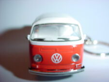 3D 1972 VOLKSWAGEN T2 TYPE 2 Double Cab Pick Up CUSTOM KEYCHAIN chain keyring 72