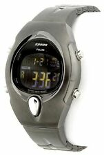 Pulsar Spoon PZX075 Women's Dark Grey Steel Digital Watch