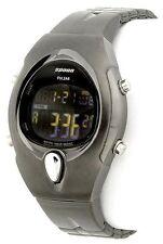 Pulsar Spoon PZX075 Women's Dark Grey Steel Digital Watch