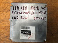 REMAPPED TOYOTA HILUX D4D 89661-0KN20 1KD Ecu Easy Immo Sync162Kw EGR Off Chip