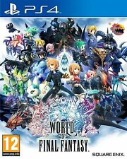 Ps4 PlayStation 4 World of Final Fantasy Day One Edition Game