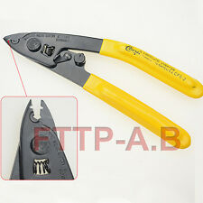 New two-port Fibre Wire Strippers FTTH Tools Optical fiber Stripping Pliers