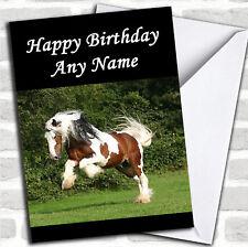 Galloping Horse Birthday Customised Card