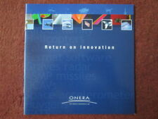 BROCHURE PUBLICITAIRE ONERA FRENCH AERO SPACE AIRBUS HELICOPTER FALCON 7X ASMP