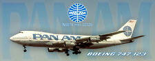 Pan Am Boeing 747 Handmade Photo Magnet (PMT1638)