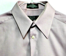 Crazy Horse Claiborne Lilac Men's Cotton Polyester Dress Shirt - Size 15 32/33