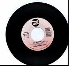 ALEXANDER O'NEAL MY GIFT TO YOU/OUR FIRST CHRISTMAS  45RPM VINYL