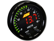 """AEM 30-0303 X-Series 8-18v Volts Gauge  2-1/16"""" 52mm - Voltmeter"""