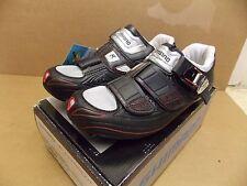 New 5.5 38.5 Shimano R-310 Road Bike Shoes Black NIB