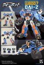 FANSPROJECT WARBOT WB007 DAI-Z TRANSFORMERS NUOVO NEW