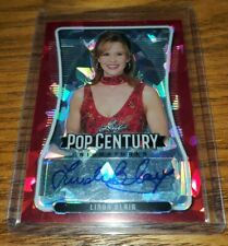 2020 Leaf Pop Century Red Crystal Autograph LINDA BLAIR 2/2 (1/1) AUTO EXORCIST