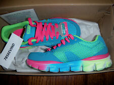 Girls' SKECHERS GO RUN RIDE Athletic Shoes size 12 (NEW IN BOX)