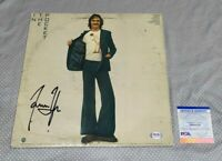 JAMES TAYLOR SIGNED IN THE POCKET LP ALBUM COVER Autographed CERTIFIED PSA/DNA