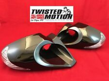 TWISTED MOTION S13 240SX DRIFT MIRRORS LED TURN SIGNALS