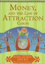 """Money & The Law Of Attraction Cards"" By Esther & Jerry Hicks (Oracle Cards)"