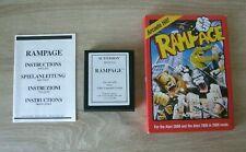 Rampage (complete) - Atari 2600