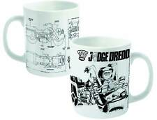 Judge Dredd Lawmaster Blueprint Mug