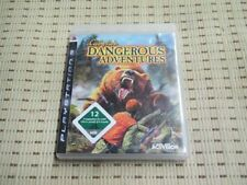 Cabela's Dangerous Adventures para PlayStation 3 ps3 PS 3 * embalaje original *