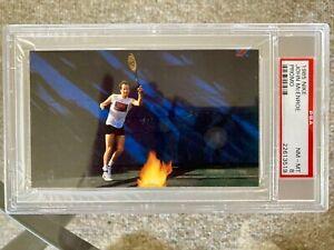 JOHN MCENROE 1985 Nike Promo Poster Card TENNIS HOF PSA 8 NM/MT