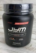 Post JYM Fast-Digesting Carb Mandarin Orange Flavor Energy Powder 30 Srv BB12/21