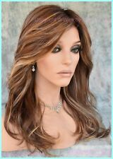 Eden Wig by Estetica Lace Front Monotop COLOR CKISSRT4 BROWN ROOTED AUTHENTIC