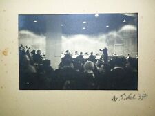 Tim Gidal 1937 Gelatin Silver Print Photo, Israel Philharmonic Orchestra 11 x 17