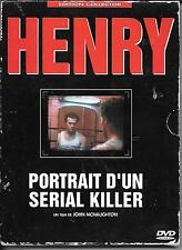 2 DVD ZONE 2 DIGIPACK--HENRY PORTRAIT D'UN SERIAL KILLER--McNAUGHTON/ROOKER