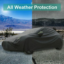 Oxford Car Cover Waterproof Windproof Adjustable Durable For Tesla Model 3