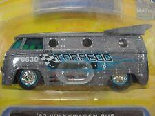 Jada Toys V dubs '62 Volkswagen Bus Torpedo  Wave 4 2007 #044