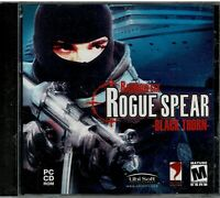 Lot of 10 Tom Clancy's Rainbow Six Rogue Spear Black Thorn Pc New Jewel Case