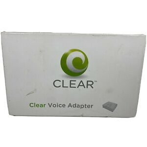 CLEAR Voice Adapter Cisco Linksys Router SPA2102-SF NEW SEALED BOX FREE SHIPPING