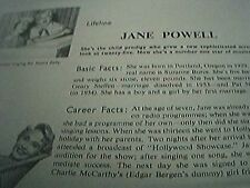 film item 1950 article jane powell musicals