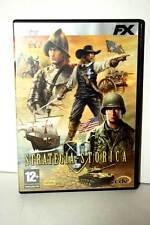 STRATEGIA STORICA GIOCO USATO BUONO STATO PC DVD VERSIONE ITALIANA VBC 30495