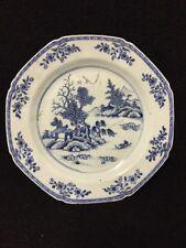 18th Century Chinese Blue And White Dish