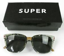 Super Vincenzo Green Marble Sunglasses Brand New Retail $319