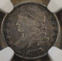 1835 Capped Bust Dime 10c NGC Certified VF30