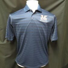 MARANATHA BASKETBALL ADIDAS Climalite Embroidered Athletic Rugby Polo Shirt M