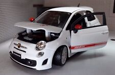 Abarth 500 Esseesse 1/24 Bburago (White)