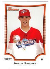 AARON SANCHEZ 2009 Bowman AFLAC All American No Hitter?