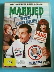 MARRIED WITH CHILDREN Season 9 DVD Region 4 see below