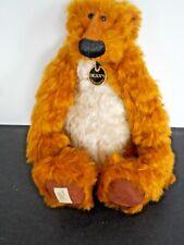 """Deans Rag Book Mango Jerry Bear Ltd. Ed. 71/150 Rare Jill Baxter Artist 12"""""""