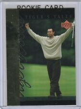 TIGER WOODS ROOKIE CARD Upper Deck GOLF RC The Masters USA Foil RC
