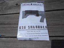 Black Shabrack Neoprene padded Kel-Tec KSG Bullpup shotgun cheek rest