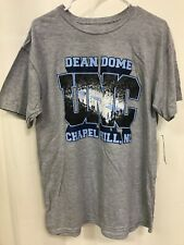 Unc North Carolina Tarheels Dean Dome Basketball court Large Mens T-shirt New