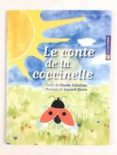 Le Conte De La Coccinelle + CD / Livre Musique, Chansons Enfant, Fuzeau Ecole