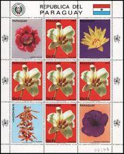 """PARAGUAY - 1983- FLOWERS """"LILIUM"""".S/S"""