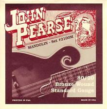 John Pearse 2110M MEDIUM GAUGE MANDOLIN STRINGS, Bronze W. From Hobgoblin Music